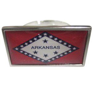 Arkansas State Flag Fashion Ring